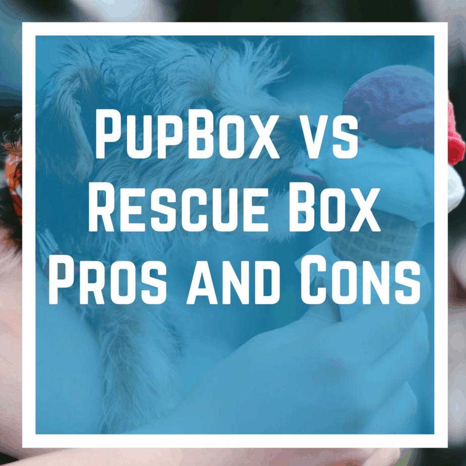 PupBox vs Recue Box - Pros and Cons