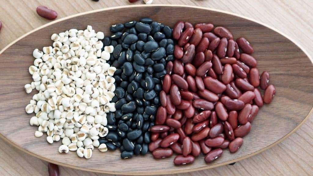 Dried Beans (Kidney Beans, Black Beans, and Pinto Beans)