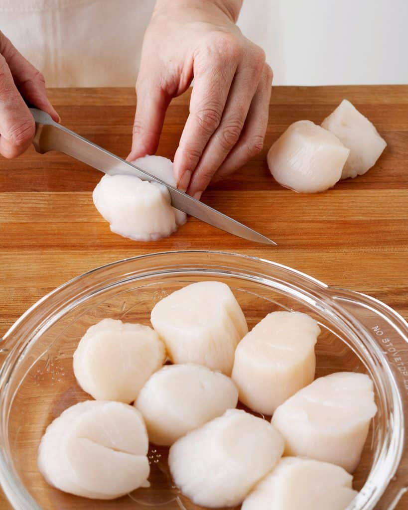Preparing Scallops for Dogs